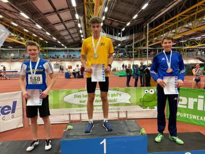 Schüler der FOSBOS Ingolstadt holt bei den Bayerischen Meisterschaften Gold- und Silbermedaille